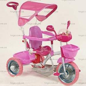 Велосипед Lux, розовый, 4060