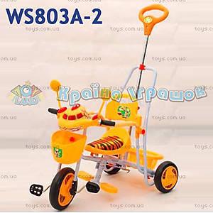 Велосипед «Львенок и Черепаха», оранжевый, 210