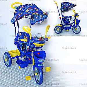 Велосипед «Львенок и Черепаха», синий, 2014-2
