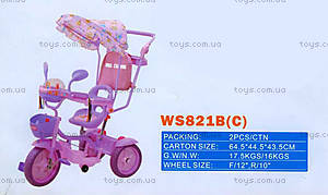 Велосипед «Маленькая принцесса», розовый, 2013-1