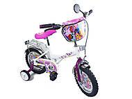 Велосипед «Маленькие пони», белый с малиновым, BT-CB-0019