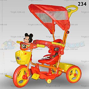 Велосипед «Микки», красный, 234