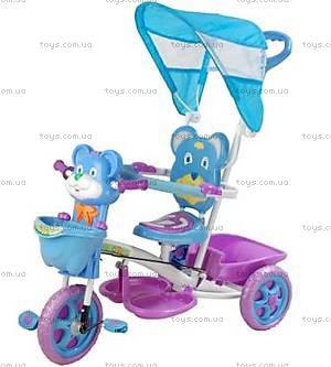 Велосипед «Мишка», фиолетовый, 406