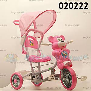 Велосипед «Мишка», розовый, 020222 РОЗ
