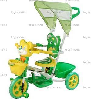 Велосипед «Мишка», зеленый, 406