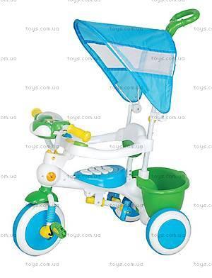 Велосипед Music, голубой, 402