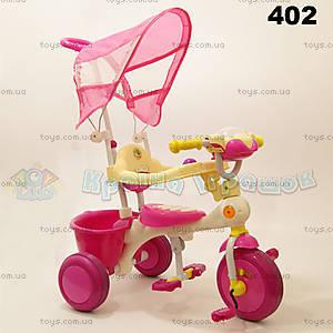 Велосипед Music, розовый, 402