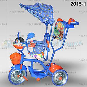 Велосипед музыкальный «Чебурашка», 2015-1
