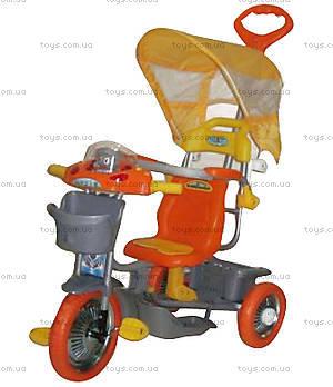 Велосипед музыкальный, оранжевый, 2011