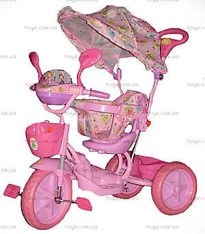 Велосипед музыкальный «Принцесса», 2012-3