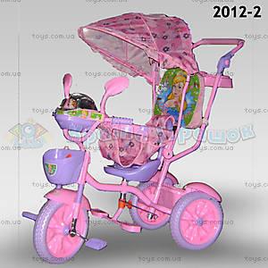 Велосипед музыкальный «Принцесса», розовый, 2012-2
