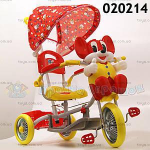 Велосипед «Мышенок», красный, 020214 КР