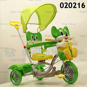 Велосипед «Мышонок», зеленый, 20216