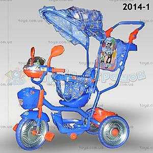 Велосипед «Ну, погоди!», синий, 2014-1