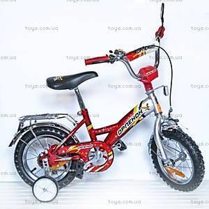 Велосипед «Орленок», 12 дюймов, красный, 101203
