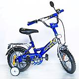 Велосипед «Орленок», 12 дюймов, синий, 101204
