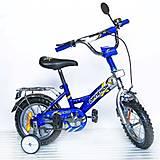 Велосипед «Орленок», 12 дюймов, синий, 101204, фото