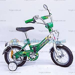 Велосипед «Орленок», 14 дюймов, зеленый, 101405