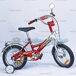 Велосипед «Орленок», 16 дюймов, красный, 101603