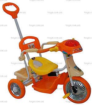 Велосипед «Полиция», оранжевый, 101