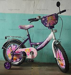 Велосипед «Принцесса», фиолетово-белый, 16P PURPLE-WH