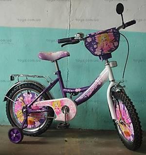 Велосипед «Принцессы», фиолетово-белый, 14DR PURPLE-W