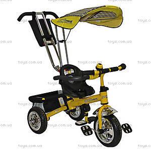 Велосипед Profi Trike желтый, 098-03