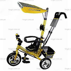 Велосипед Profi Trike модели EVA Foam, золотой, M0450-4