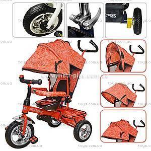 Велосипед Profi Trike Stroller красный, M0201