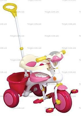 Велосипед «Прогулка», розовый, 401