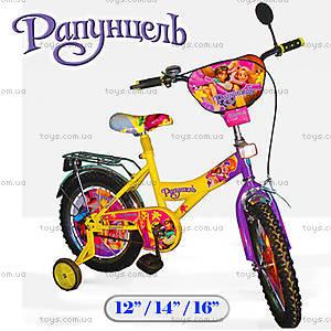 Велосипед «Рапунцель», 12 дюймов, 121214