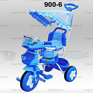 Велосипед «Робот», синий, 900-6