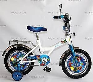 Велосипед «Русалочка», белый с голубым, BT-CB-0020
