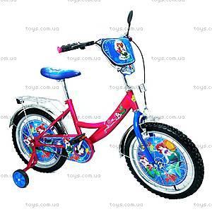 Велосипед «Русалочка», малиновый, BT-CB-0022