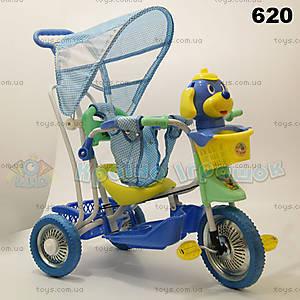 Велосипед с игрушкой, 620
