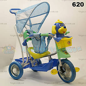 Велосипед с игрушкой, синий, 620 ГОЛ