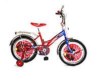 Велосипед «Спайдермен», красный с синим, BT-CB-0009