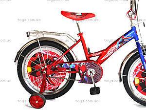 Велосипед «Спайдермен», красный с синим, BT-CB-0009, купить