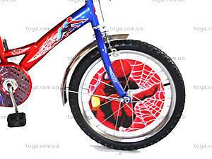 Велосипед «Спайдермен», красный с синим, BT-CB-0009, фото