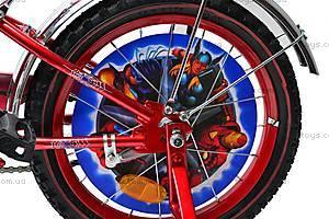 Велосипед  «Супергерои» 16 дюймов, 101606, игрушки