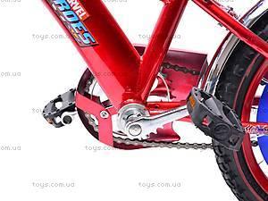 Велосипед  «Супергерои» 16 дюймов, 101606, детские игрушки