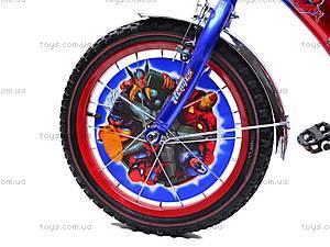 Велосипед  «Супергерои» 16 дюймов, 101606, toys.com.ua