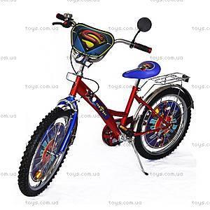 Велосипед «Супермен», красный с синим, BT-CB-0005
