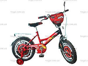 Велосипед «Тачки», красно-черный, 16C RED-BLACK