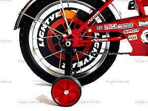 Велосипед «Тачки», красный с черным, BT-CB-0003, купить