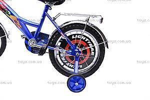 Велосипед «Тачки», сине-красный, 16C BLUE-RED, купить