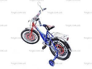 Велосипед «Тачки», сине-красный, 16C BLUE-RED, фото