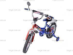 Велосипед «Тачки», сине-красный, 16C BLUE-RED, отзывы
