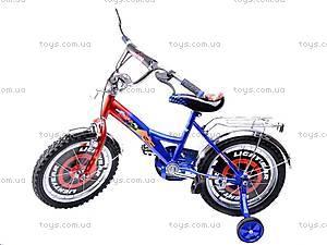 Велосипед «Тачки», сине-красный, 16C BLUE-RED