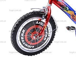 Велосипед «Тачки», сине-красный, 16C BLUE-RED, цена